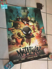 Mutafukaz Movie Poster 40x60 Unfolded poster Run Ankama