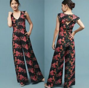 NWT Anthro Tracy Reese Laurette Jumpsuit Size S