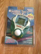 Tiger Golden Tee Golf Vintage Handheld Videogame 1991 Sealed, Rip In Packaging