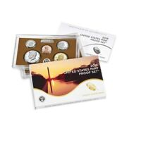 """2019 US Mint Proof 10-Coin Set Comm. (w/o Lincoln """"W"""" Penny)"""