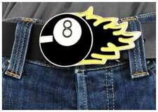 Buckle Gürtelschnalle  Ball Eight Billard Rock  Heavy Metall