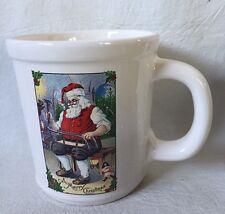Magenta coffee mug A Merry Christmas Happy Holidays