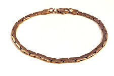 Vintage Jewelry - 1950s Classic Gold Plated Flat Tortoise Woven Link Bracelet