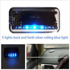6LED Solar Energy Car SUV Security Solar Energy Warning Theft Flash Sensor Light