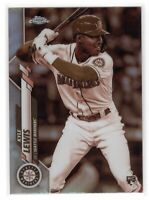 2020 Topps Chrome Kyle Lewis SP Sepia Refractor Rookie RC  #186 Seattle Mariners