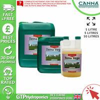 Canna Terra Vega A+B 5L - Veg Growth Plant Nutrients Soil A&B 5 Litre