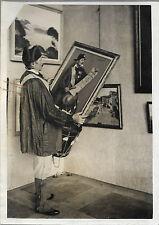 PHOTO MEURISSE + PARIS + 6 mars 1937 + GARDE-CHAMPETRE de Montmartre + Tableau