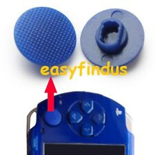 for PSP 1000 series Thumb cap Button Analog replacement parts Joystick blue new