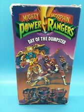 Used Mighty Morphin Power Rangers Day Of The Dumpster VHS