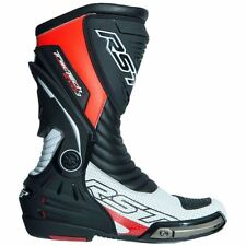 RST 2101 Tractech III Race Flo Red Motorcycle Boots