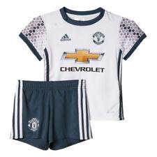 Maglie da calcio di squadre inglesi bianchi marca adidas manchester united