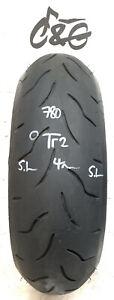 Bridgestone Battlax Bt016r   180/55zr17   73w Part Worn Motorcycle Tyre 780