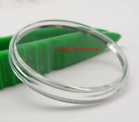 Sternkreuz Flat Top Acrylic Crystal With Chrome Tension Ring 17mm to 35.2mm