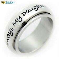 Always My Daughter Now My Friend Spinner Ring Mother Daughter Spinner Ring New