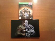 Xbox one middle earth shadow of war gold steelbook NO GAME steel book UK version