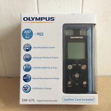 Olympus DM-670 Grabadora de voz/dictáfono