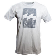 BILLABONG Men's t-shirt Surf Skateboard Snowboard 100% Cotton Reg $26 White NEW