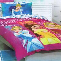 Disney Princess - Follow Your Dreams - Single/US Twin Bed Quilt Doona Cover Set
