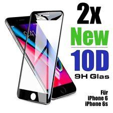 2x 10D Schutzklar Glasfolie für iPhone 6s iPhone 6 Displayschutz Hartglas 9H DE