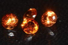 Padparadscha Round Loose Natural Sapphires