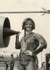 Cold War Era Photo Female Russian Mig-21 Pilot Russia USSR Soviet Union  / 8126