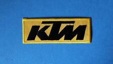 `KTM`SEW OR IRON ON PATCH