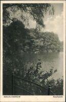 Ansichtskarte PK sw Berlin-Treptow Karpfenteich Fotografie gelaufen 1928
