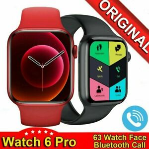 2021 Smart Watch Ak76 HD CALL DIAL GAMES Heart Fitness Tracker IPHONE Android UK
