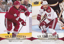 11-12 Upper Deck Daymond Langkow /100 UD Exclusives
