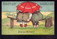 Germany Gruss auss MARIENBAD Comic PPC