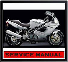 DUCATI ST 3 ST3 2004-2007 BIKE REPAIR SERVICE MANUAL IN DVD