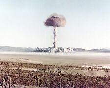ATOMIC BOMB MUSHROOM CLOUD 'CHARLIE' 8x10 SILVER HALIDE PHOTO PRINT