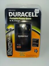 Duracell Du7131 1,800mah Portable Powerbank with Ac Charger New