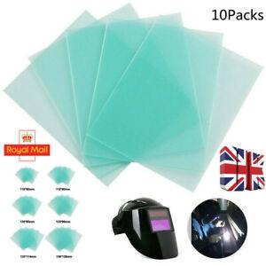10Packs Clear PC Welding Protective-Cover Lens Plate For Welding Helmet Mask