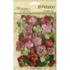 Petaloo Botanica Chantilly Velvet Hydrangeas Rose, Craft, Scrapbooking, Cards