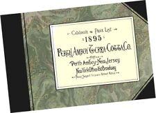 Perth Amboy Terra-Cotta Co 1895 CATALOGUE Architecture Building Ceramic Samples