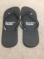 Bunnings Warehouse Trade Black Thongs Flip Flops Size 9 Australia Rare