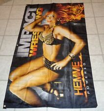 NWA TNA Impact Christy Hemme Diva Knockout Wrestling Banner Flag WWE 5 x 3