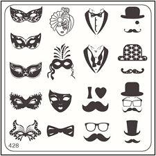 Moyou Stampaggio Unghie alla Moda Nail Art Immagine PIASTRA 428 Urban Style Masquerade
