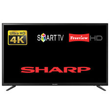 "Sharp LC-55CUG8052K 55"" Smart LED TV Ultra HD 4K WiFi With Freeview HD Tuner"