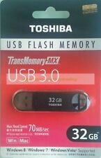 Toshiba Black USB 32GB 32G Suzaku TransMemory-MX USB3.0 Flash Pen Drive New