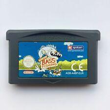 Monster Bass Fishing (Nintendo GBA Game Boy Advance SP / DS, 2003) - GENUINE