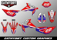 BETA RR 2013-2016 SEMI CUSTOM GRAPHICS KIT MX DECALS MOTOCROSS STICKERS