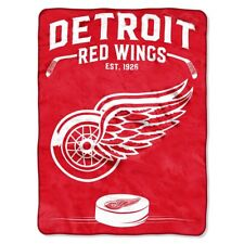 Detroit Red Wings blanket bedding 57x77 Twin NHL FREESHIPING plush Detroit throw