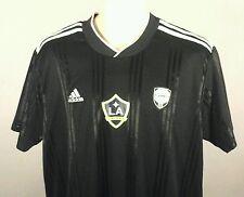 Adidas LA GALAXY Jersey Climacool Soccer Futbol Shirt Black/White Men's L $90