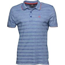 DUCK AND COVER MENS PHASE POLO - COBALT BLUE – SMALL – BNWT