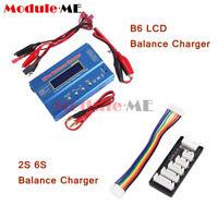 iMAX B6 LCD Screen Digital RC Lipo NiMh Battery Balance Charger 2S 6S JST-XH