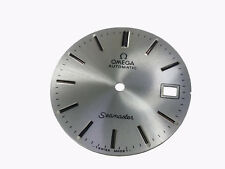 Vintage Omega Seamaster Automatic Watch Metalic Shinny Silver Color Men's Dial
