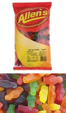 Bulk Lot 1.3 kg x Allens Jelly Babies Bag Sweets Lollies Candy Kids Party Favor