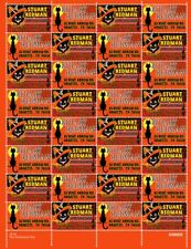 Custom Return Address Stamps - Halloween - Sheet of 32 - Gummed & Perforated